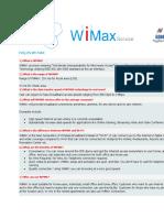 wimax faq