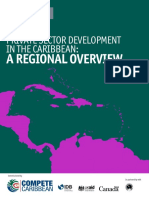 EIU Private Sector Development in the Caribbean a Regional Overview Final 4.3.15 With Covers