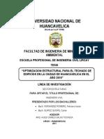 2017 Optimizacion Estructural Para El Techado de Edificios en La Ciudad de Huancavelica en El Año 2016