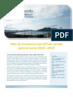 Plan de Formacion CEP Laredo 18/19