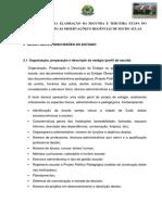 Orientações Para Elaoração Da Segunda e Terceira Etapa Do Relatório Quanto Às Observações e Regências de Micro Aulas