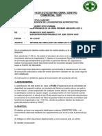 Informe Del Simulacro de Sismo 30 Octfda
