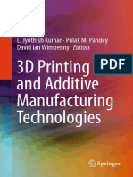 L. Jyothish Kumar, Pulak M. Pandey, David Ian Wimpenny - 3D Printing and Additive Manufacturing Technologies (2019, Springer Singapore)