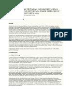 Penyusunan Dan Penyajian Laporan Keuangan Berbasis Sak Etap