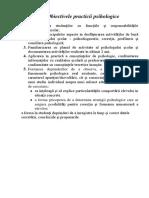Ghid de Practica La Psihologie