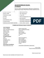Form Bukti Registrasi