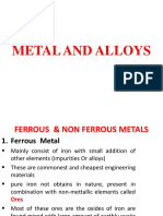 Metal and Alloys