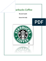 Starbucks Brand Audit