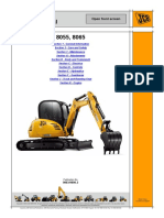 JCB 8055 MIDI EXCAVATOR Service Repair Manual SN(1536000 to 1537499).pdf