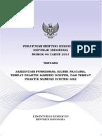 2. PERMENKES NO 46 TAHUN 2015 TENTANG AKREDITASI PUSKESMAS, K.pdf