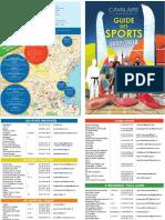Cavalaire - Guide Des Sports 2017-2018