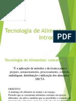 Aula_01 - Introdução a Tecnologia Em Alimentos