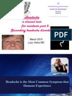 AHD Dr. Vieira Headache P2, Mar 31 Lower