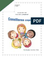 Consilierea Copiilor 2018 2019