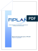 Manual Execucao FIPLAN 2013