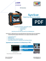 SyncScan Brochure f