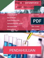 Kimia Air (Desinfeksi)