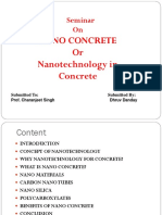 Nanotechnology in Concrete