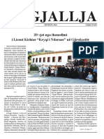 """Gazeta """"Ngjallja"""" Shtator 2018"""