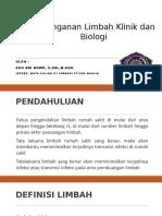 Penanganan Limbah Klinik Dan Biologi _K3Farmasi - PDF