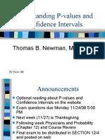 Understanding P- values and CI 20Nov08 (1)