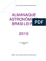 almanaque astronomico CEAMIG 2010
