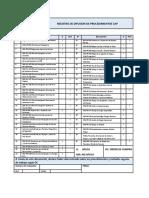 Formato de Listado de Procediientos