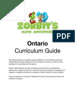 ontario curriculum guide