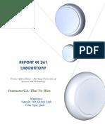 Lab Report Ee361