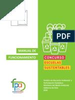 Manual Escuelas Sustentables 2019