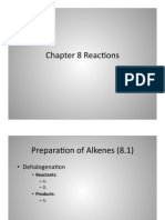 Alkenes Reactions
