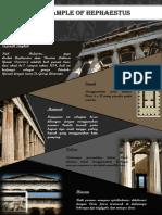 Poster arsitektur yunani