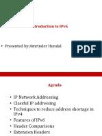 Amrinder IPv6