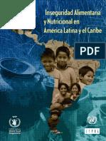 inseguridad alimentaria nutricional en américa latina y el caribe