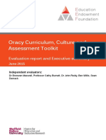 EEF Project Report OracyCurriculumCultureAndAssessment
