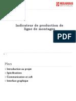 Indicateur de Production de Ligne de Montages