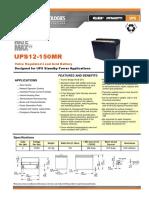 UPS12-150MRX