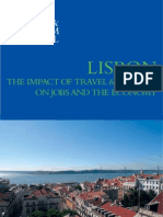 Lisbon the Impact of Travel Tourism on Jobs An