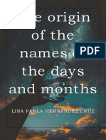 The Origin of the Names of the Days and Months