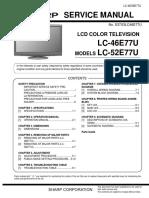 Sharp Lc46e77_lc52e77