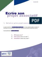 Projet Associatif