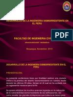 Desarrollo de La Ingenieria Sismorresistente en El Peru