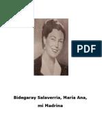 Ana Maria Bidegaray, Mi Madrina