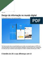 Design Da Informação No Mundo Digital