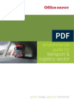 Guidelines for Transport and Logistics