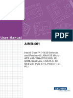 AIMB-501 User Manual Ed.1-Draft6