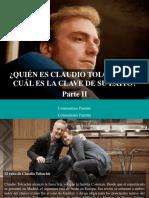 Constantino Parente - ¿Quién Es Claudio Tolcachir y Cuál Es La Clave de Su Éxito?, Parte II