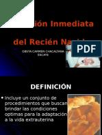 Clase 1.- Atención Inmediata Del Recién Nacido..Ppt Carmen