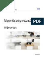 Taller de Liderazgo y Colaboración - IBM