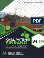 Kabupaten Pinrang Dalam Angka 2018